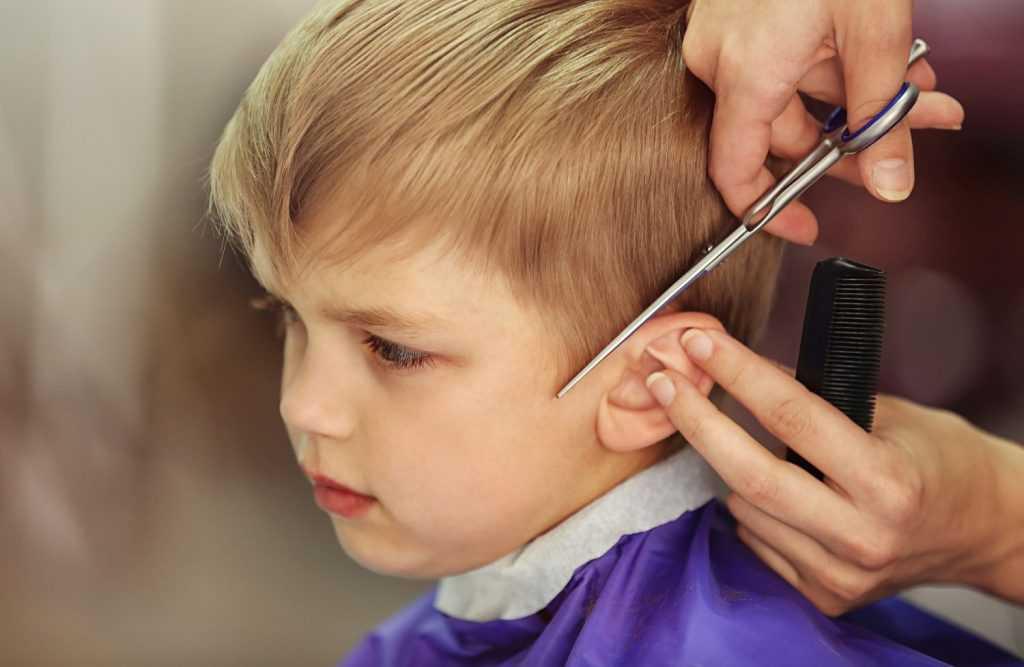 Картинка детских стрижек
