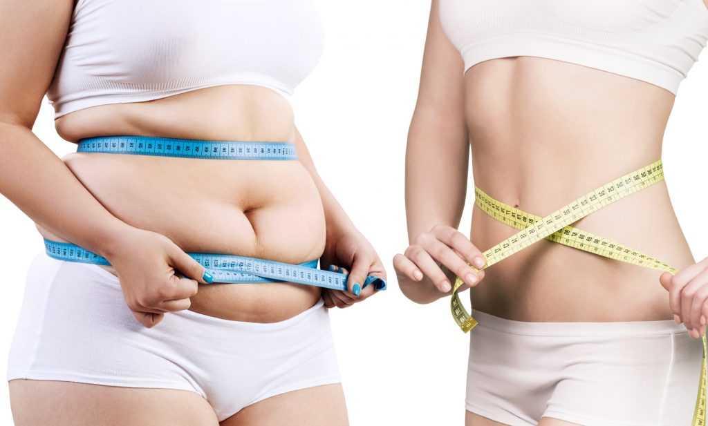 Как сбросить лишний вес с живота девушке